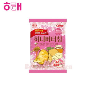 HAITAI Honey Butter Chip Cherry Blossom 60g*2pack [Special Edition]